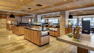 Speisesaal - Buffetbereich, © Hotel Post am See