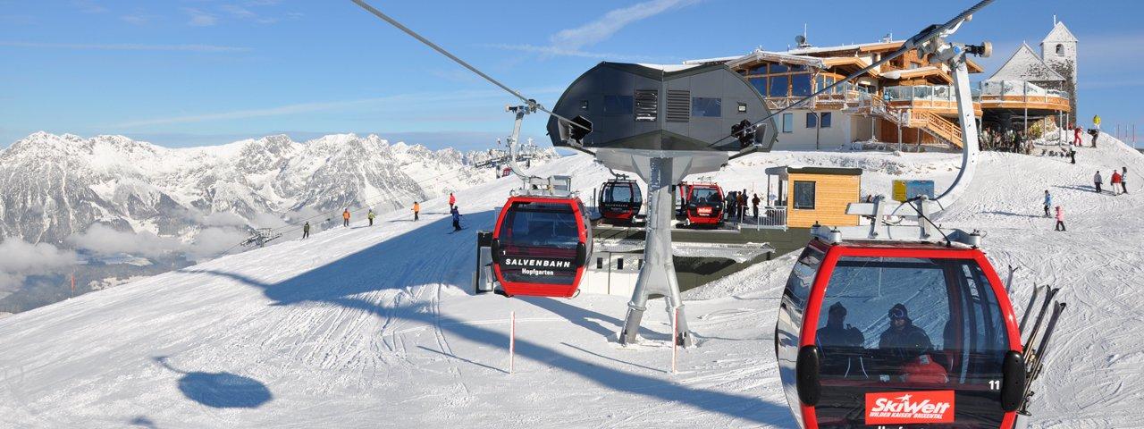 Salvenbahn lift in Hopfgarten, © Bergbahn Hohe Salve