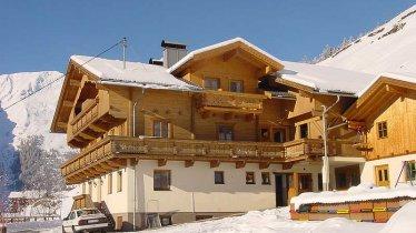 Maison Gutwenger en hiver