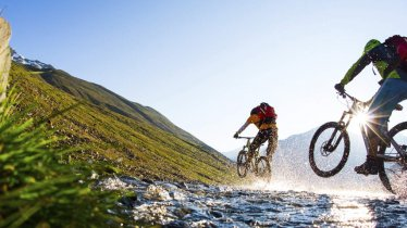 Mountain biking in Oetz, © Ötztal Tourismus