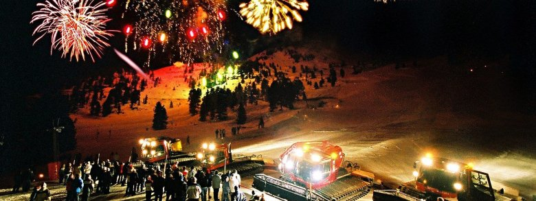 The New Year's Eve Party thrown at Hochoetz Ski Resort is a truly memorable experience. © Bergbahnen Hochoetz