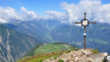 At the top of the Filzenkogel mountain