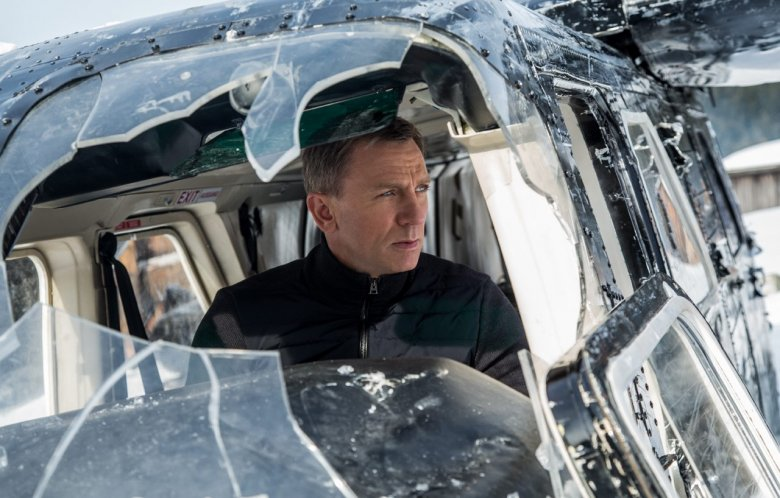 Daniel Craig's 007 was on location for three days in January 2015, filming scenes at the 687-resident village of Obertilliach. Photo Credit: Sony Pictures Releasing GmbH