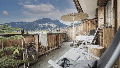 Terrasse  Almrausch mit Südblick