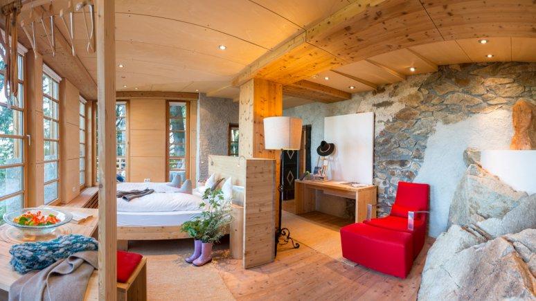 Room at the Biohotel Grafenast, © Biohotel Grafenast