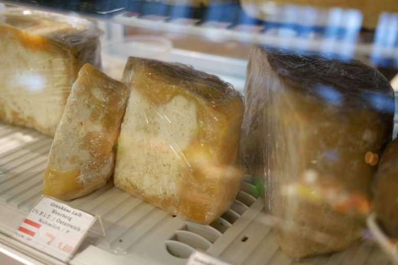 """Graukäse has a """"special"""" look according to cheese sommelier Stefan Kranebitter."""