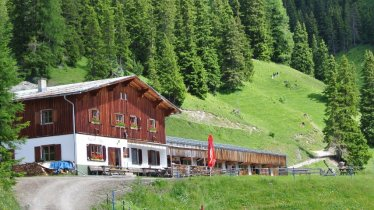 The Putzenalm hut north of St. Anton am Arlberg, © Putzen-Alpe