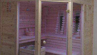 Sauna und Infrarotkabine 2020