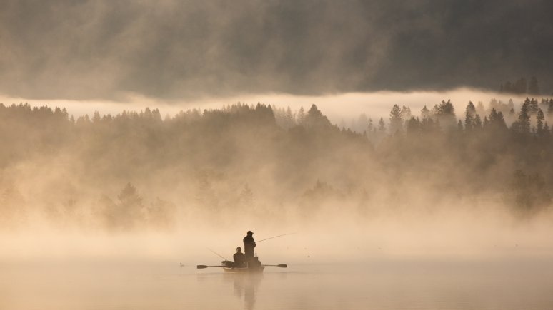Fishing at Walchsee lake, © Karl2o Wassersportzentrum Walchsee