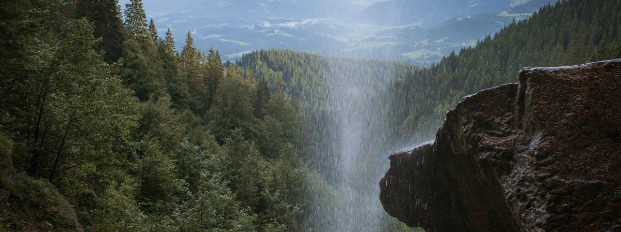 Eagle Walk Stage 1: Schleierwasserfall waterfall, © Tirol Werbung/Jens Schwarz