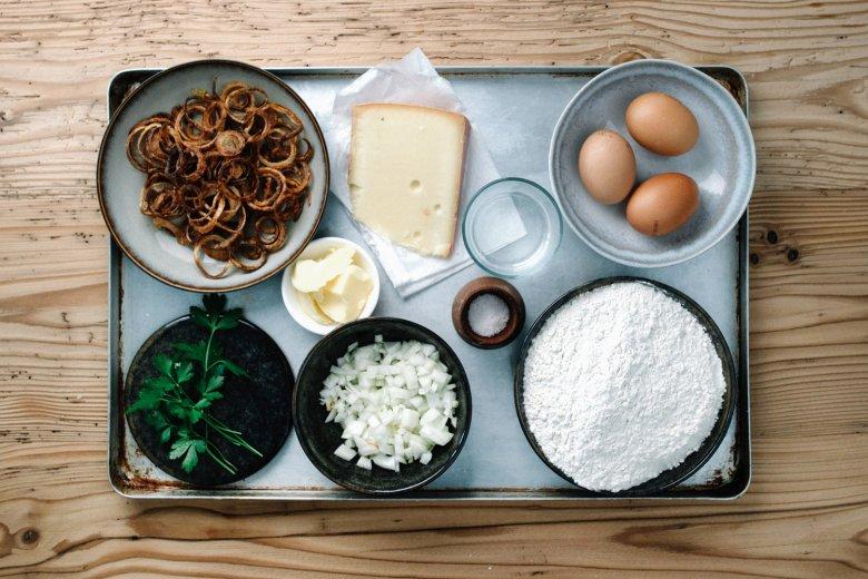 Kasspatzln: Ingredients