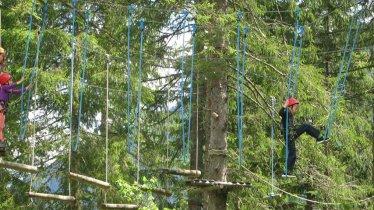 Bichlbach Aerial Forest Adventure Park in Tirol's Außerfern Region, © Kletterwald Bichlbach