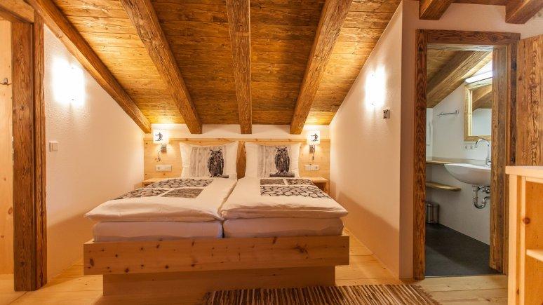 Bedroom, © Haberlhütte