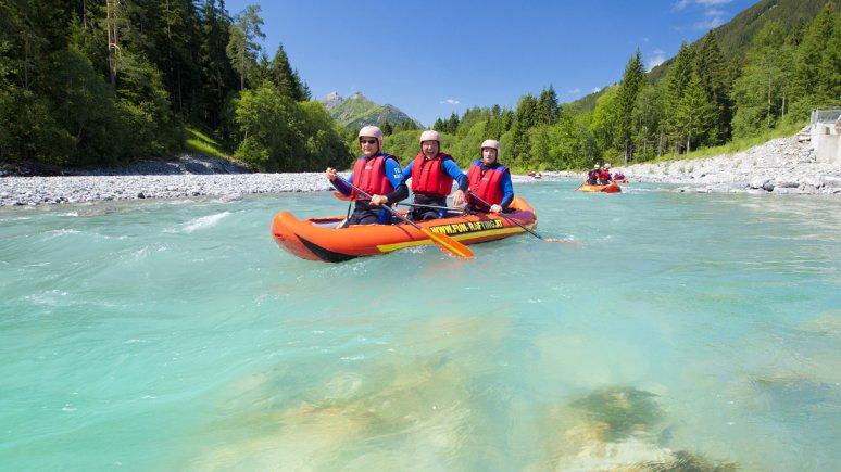 Rafting on the Lech river, © Robert Eder