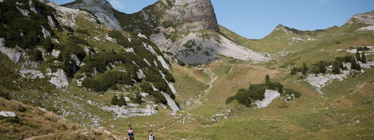 Hiking in the Rofan Mountains, © Tirol Werbung/Jens Schwarz