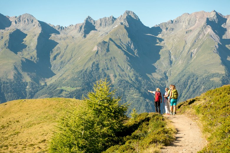 Hiking in the Hohe Tauern National Park. Copyright: Hohe Tauern/Martin Lugger