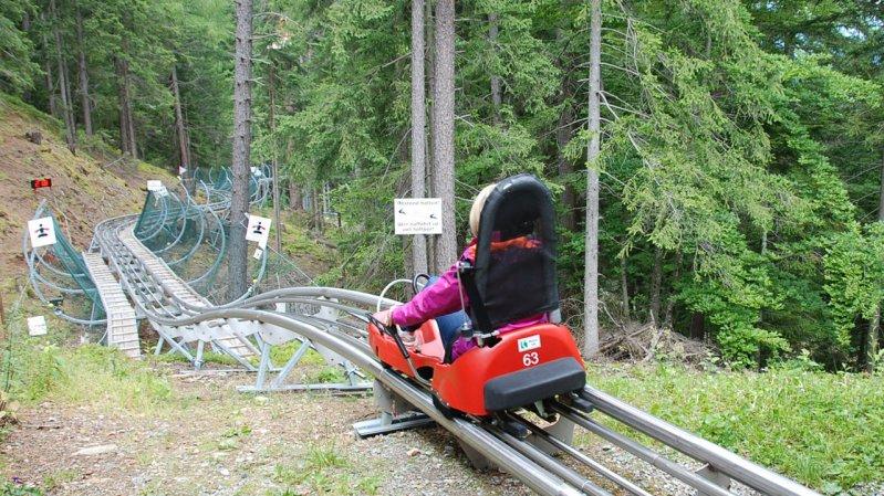 """Osttirodler"" summer toboggan run, © Tirol Werbung"