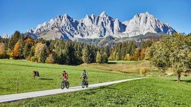 Riding around the Kaiser Mountains, © Tourismusverband Wilder Kaiser/ WOM Medien GmbH Stefan Schopf