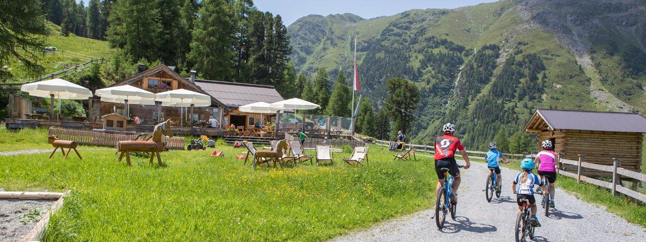 Mountain biking in Serfaus, © Andreas Kirschner