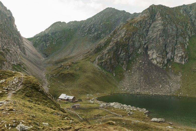 Obstansersee Hut. , © Tirol Werbung / Sebastian Schels