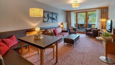 Suite Wohnbereich Fürstenhaus am Achensee