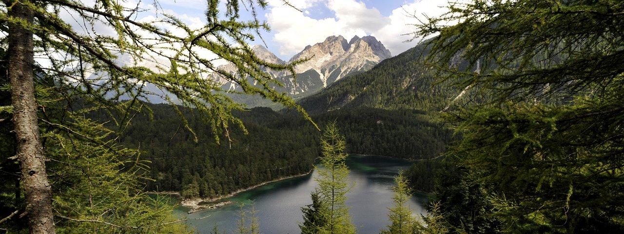 Fernsteinsee lake near Nassereith, © Tirol Werbung / Bernhard Aichner