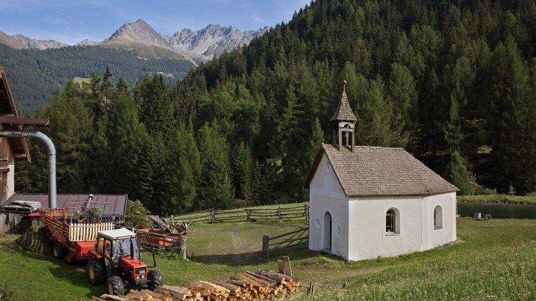 The Tiefhof farm in Nauders. , © Lisa Hörterer