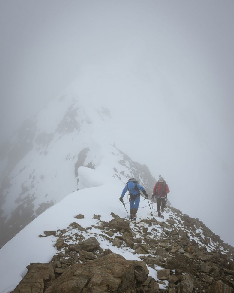 """The weather is decisive up here as it can make for different conditions on trail."""
