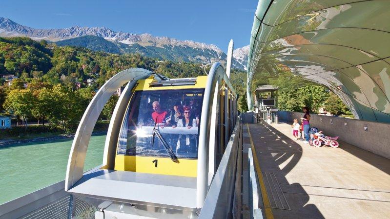 Hungerburgbahn funicular railway, © TVB Innsbruck