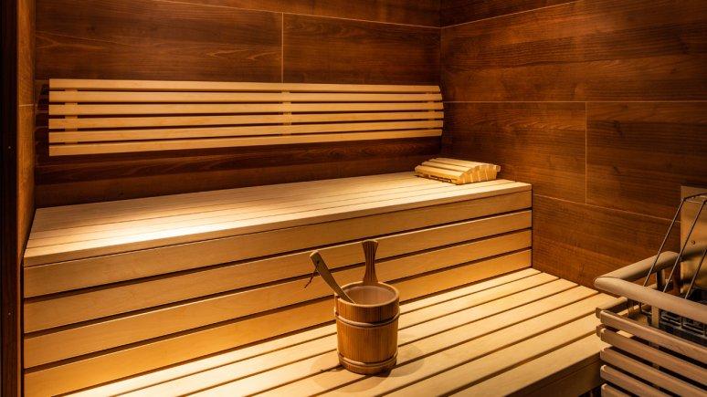Sauna in the freiraum apartments, © Hartwig Gsaller Photography