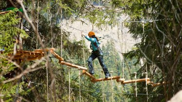 Aerial Forest Adventure Park in Tannheimer Tal Valley, © TVB Tannheimer Tal