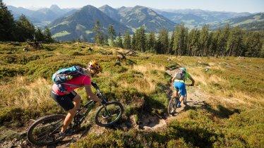 Trailriding in the Kitzbühel Alps, © Eye5/Carlos Blanchard