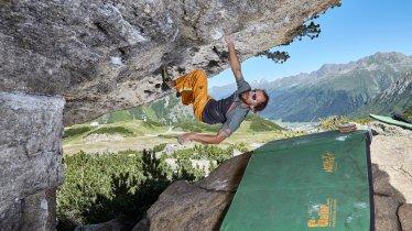 Rock climbing in Paznaun, © TVB Paznaun-Ischgl