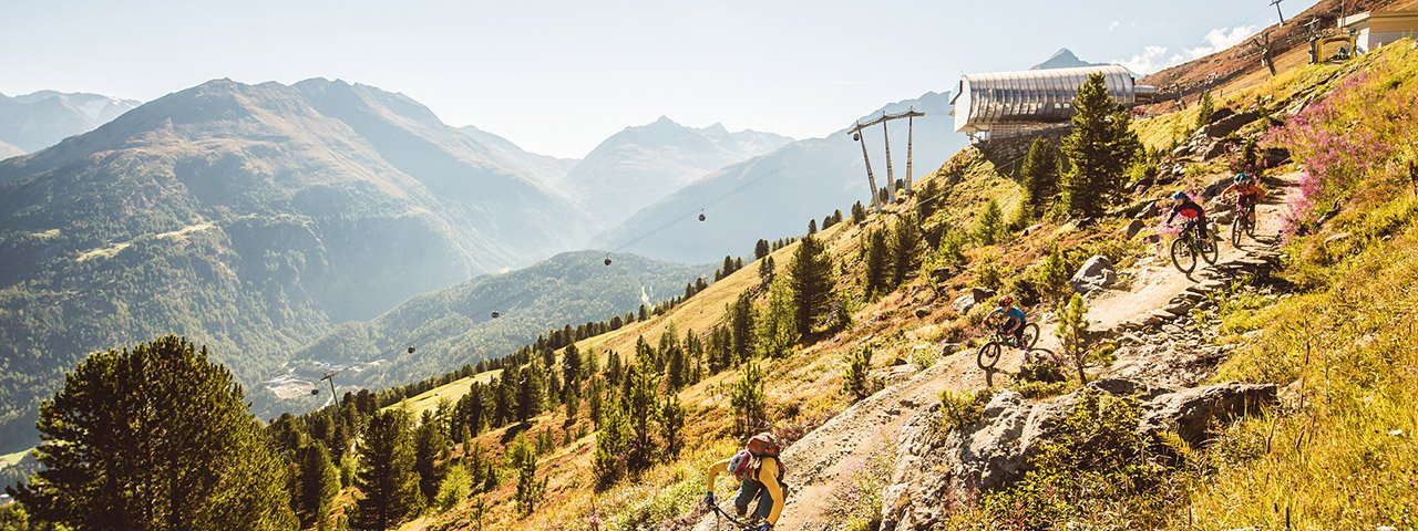 The third Bank Holiday of the Sölden Bike Republic comes into effect in October 2021, © Ötztal Tourismus