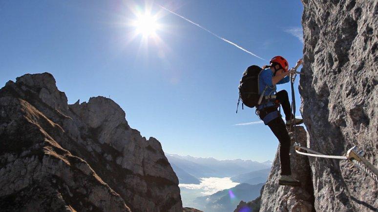 Five summits via ferrata, © Achensee Tourismus