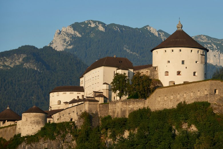 Kufstein Fortress was first mentioned in historical documents in the year 1205. , © Tirol Werbung / Marshall George