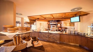 Hotel Alpenrose, Frühstücksbuffet