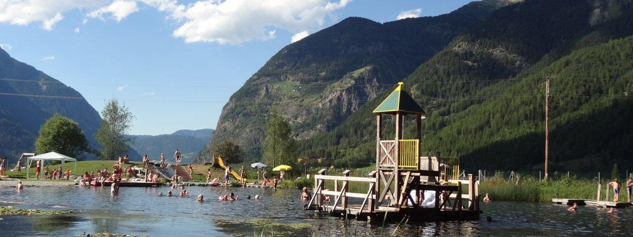 Umhausen swimming lake, © Tirol Werbung/Katleen Johne
