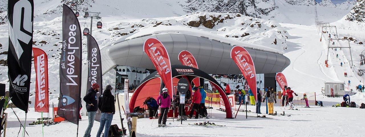 Pitztal Glacier Ski Resort is again gearing up for the new season in October, © Pitztaler Gletscherbahn