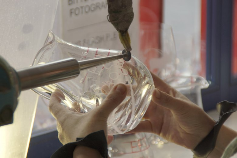Glass Engraving at Kisslinger