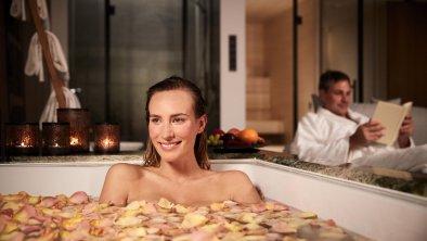 Zeit zu zweit im Private Spa genießen, © Interalpen-Hotel Tyrol