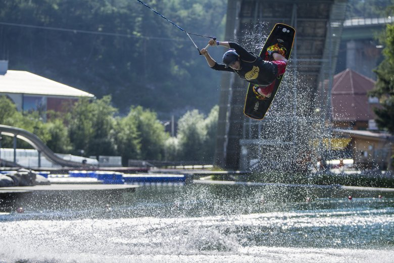 Wakeboarding at Area 47, Photo Credit: AREA 47 / Jens Klatt