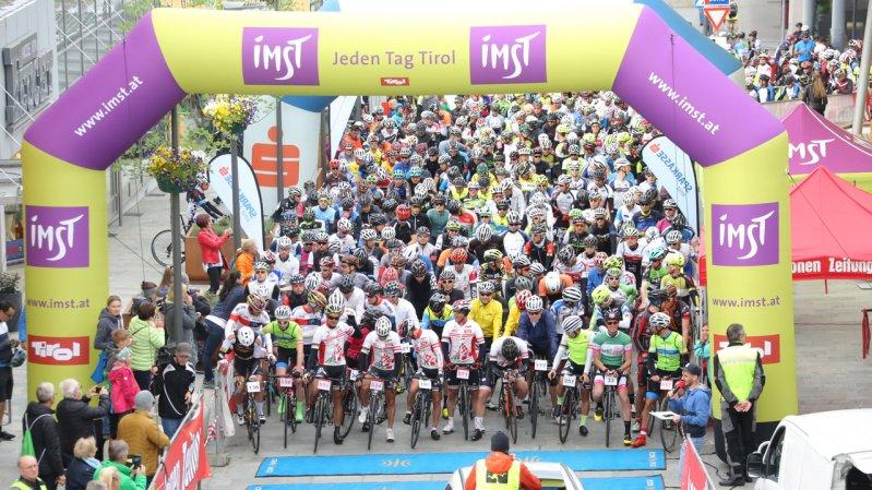 The Start at the Imst Cycling Marathon, © sportograf