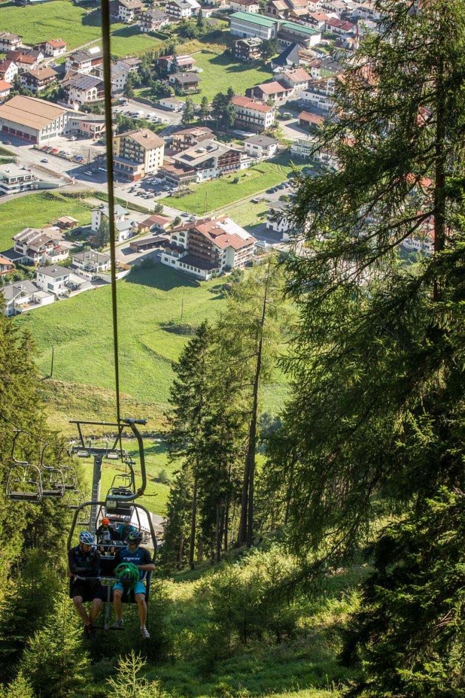 Beim Mutzkopflift stehen vier verschieden Trails zur Auswahl.
