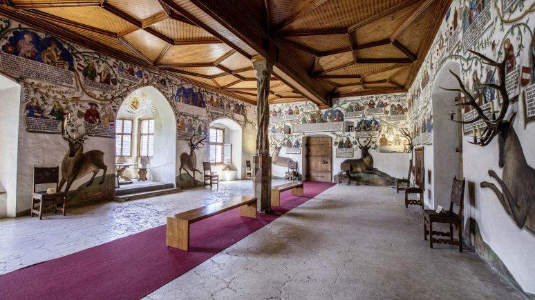 Habsburg Hall, © Schloss Tratzberg