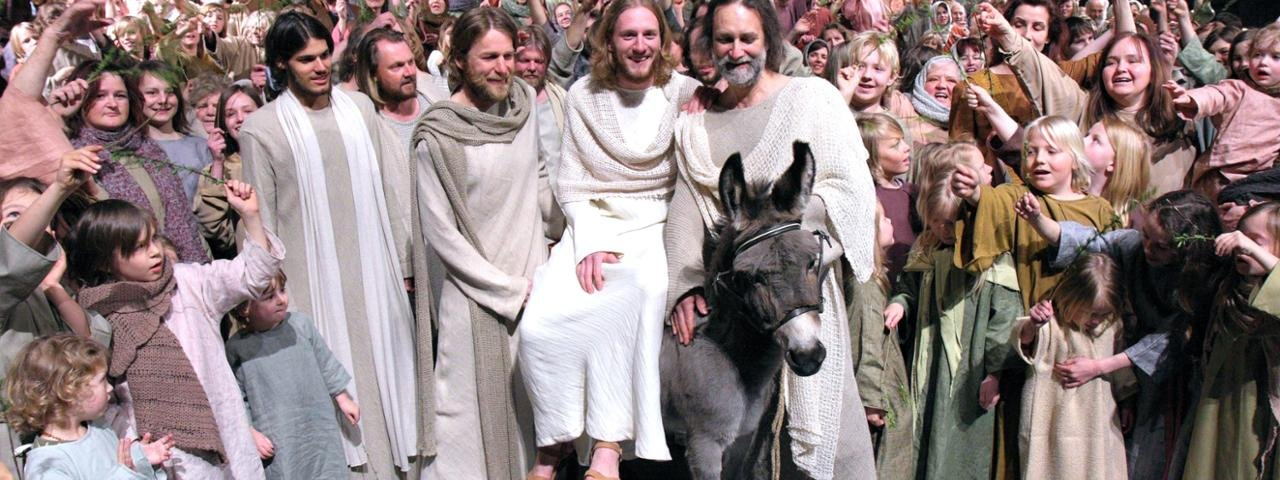 Erl Passion Play: Meeting Mary, © Passionsspielverein Erl
