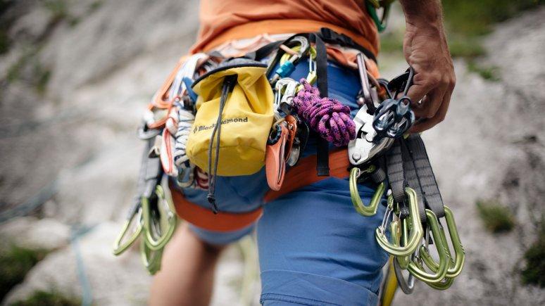 Climbing equipment, © Tirol Werbung / Manfred Jarisch