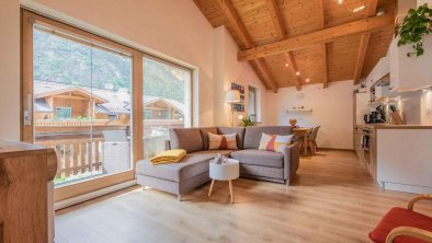 Großer offener Wohnbereich - Ferienwohnung Gabi, © Gabi Stern
