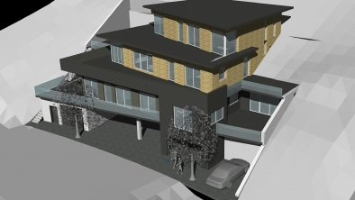Sketch aparthotel ADRENALIN - Southeast