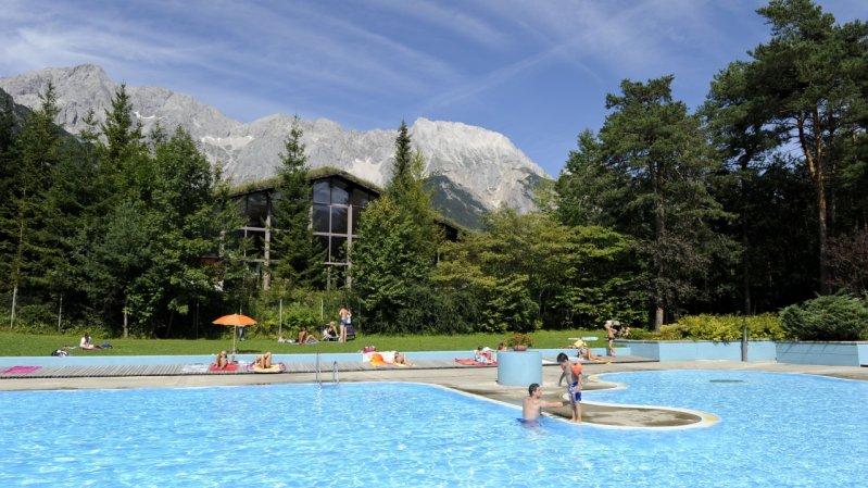 Waldschwimmbad Barwies, © Innsbruck und seine Feriendörfer